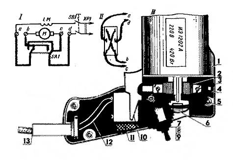 Электрическая схема дрели загрузить